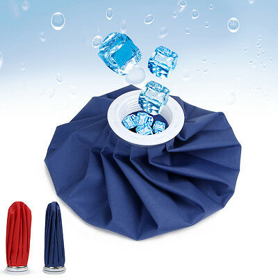 "9"" Reusable Ice Bag Pack Sports Injury First Aid Pain Relief Hot Cold Therapy"