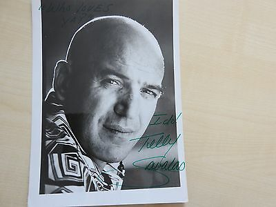 Telly Savalas/Kojak autograph original signed very rare