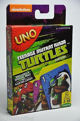 Uno Teenage Mutant Ninja Turtles- Card Game