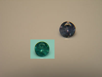 rare ALEXANDRITE Color Change NATURAL Brazil gem Green Purple Fluorescent rnd a9