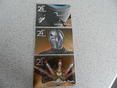 Star Trek Voyager Season Two 24TH Century Technolohy Set of 3 Cards