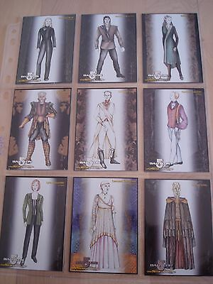 Babylon 5 Special Edition Costumes Card complete Set of 18 Cards (C1 - C18)