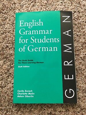 English Grammar for Students of German 6th Edition