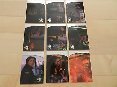 Babylon 5 Season Five The River of Souls complete Set of 9 TNT Movie cards