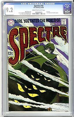 Dc Spectre #10 (5-6/69) Cgc 9.2 Cream To Off-White Pages Nick Cardy Cover Art