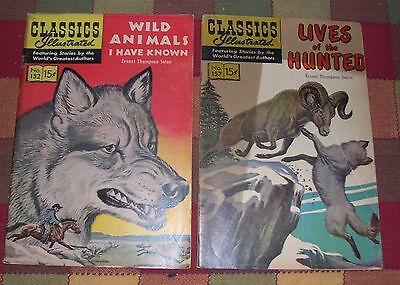 Wild Animals I Have Known No. 152 & Lives of the Hunted No. 157 Ernest T. Seton