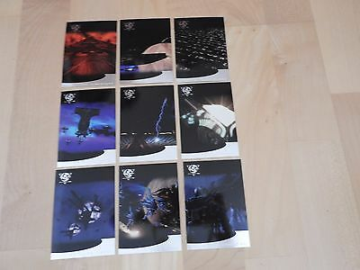 Babylon 5 Season Five Thirdspace complete Set of 9 TNT Movie cards