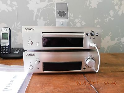 Denon Seperates System With Speakers