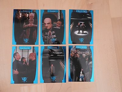 Babylon 5 Season Five One Exit at a Time complete Set of 6 cards rare