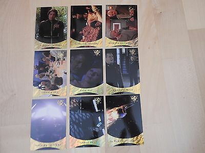 Babylon 5 Season Five Sleeping in Light complete Set of 9 cards very rare