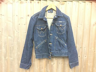 Wrangler vintage mens denim jacket