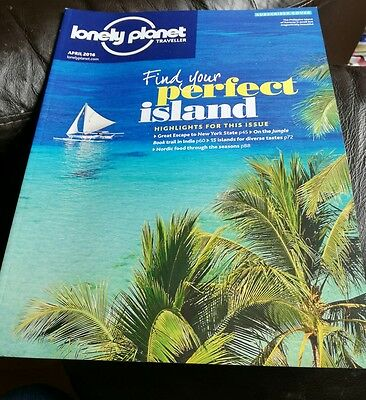 Lonely Planet Traveller Magazine April 2016 New York State India Nordic Food