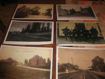 cartes postales  hainaut silly