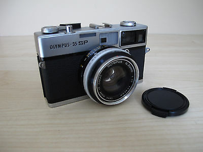 Olympus 35SP 35mm Rangefinder Film Camera with 42mm Lens