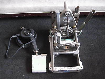Mcelroy 2LC Pitbull Fusion Assembly Cutter/Facer Heater