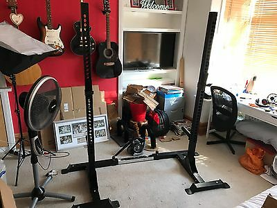 Strength Shop Heavy Duty adjustable Squat Stands - New - RRP £310