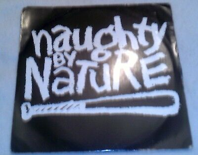 "Naughty By Nature rare 'o.p.p.' 7"" vinyl"