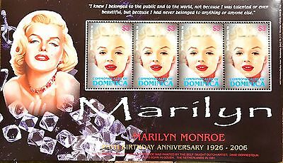 Marilyn Monroe - Commonwealth of DOMINICA