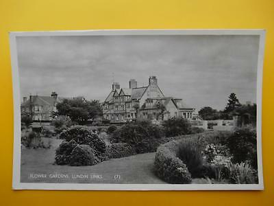 Flower Gardens & Golf View Hotel LUNDIN LINKS Nr Leven Fife *Vintage* RP 1960