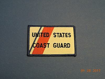 US Coast Guard United States USCG Military Patch #Q09