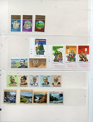 An Excelent Lot Of New Zealand Stamps Mnh,top Drawer