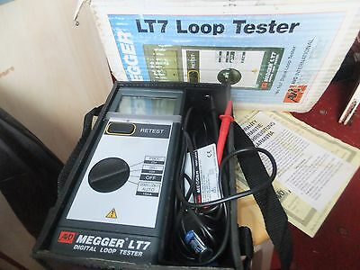 Avo Megger Lt7 Digital Loop Tester