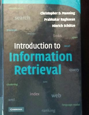 Introduction to Information Retrieval - Christopher D. Manning, Prabhakar