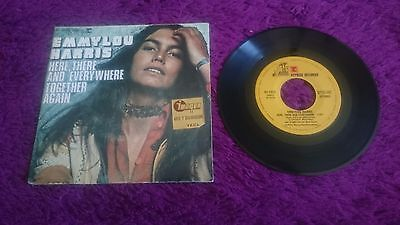 """Emmylou Harris – Here, There And Everywhere , Vinyl, 7"""", Single ,1976 ,45-1325"""