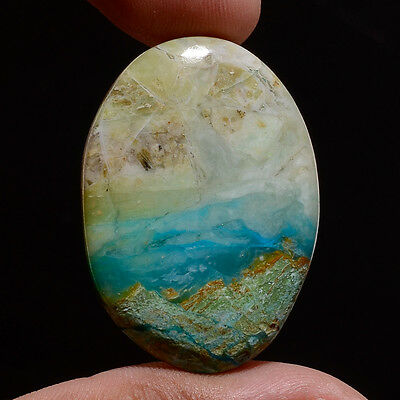 100% Natural Designer Peruvian Opal Oval Gemstone Untreated Loose Cabochon Gifts