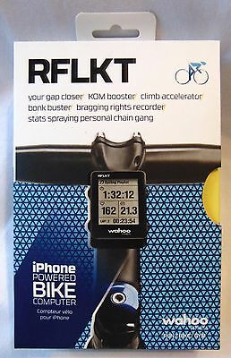 Wahoo Fitness RFLKT BIKE COMPUTER for iPhone & Android – NEW