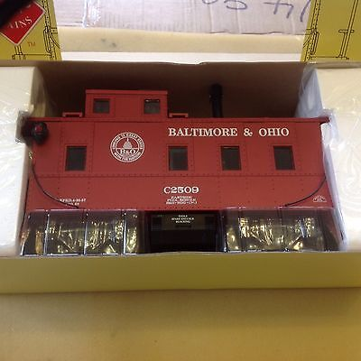 Aristocraft G Scale  Long Steel Caboose