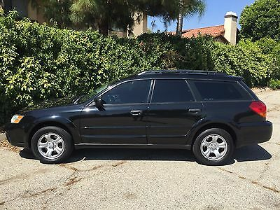 2007 Subaru Outback BLACK STICK OUTHERN CALIFORNIA CORROSION FREE 5 SPEED MANUAL CLEAN CARFAX W/SERVICE HISTORY