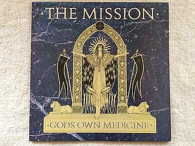 The Mission - God's Own Medicine - Vinyl LP in Good condition