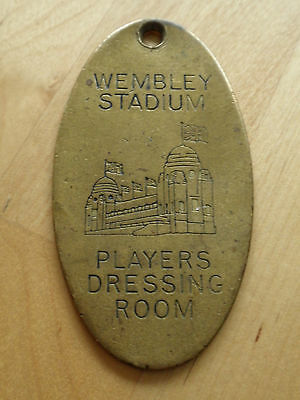 Old  Vintage Wembley Brass Players Dressing Room  Key Fob
