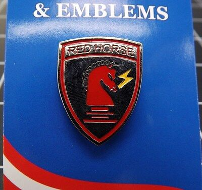 """BRAND NEW Lapel Pin United States Air Force Civil Engineer Red Horse 1"""""""