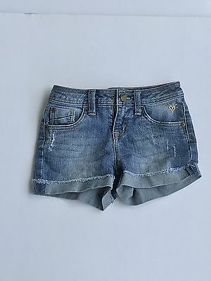 """Girl's Justice """"simply low"""" jean shorts size 7 regular- Great condition!"""