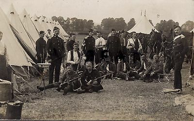 Soldier Group Royal Wiltshire Imperial Yeomanry annual camp full dress