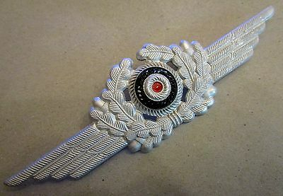 WW2 Luftwaffe cap wreath