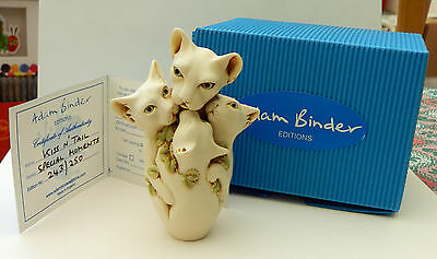 Adam Binder Editions Special Moments Series - Kiss 'n' Tail (Cats)