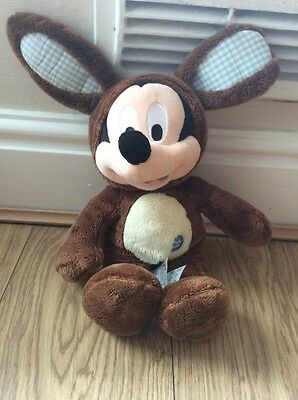 Disney Store Exclusive Easter Edition Mickey Mouse Soft Toy