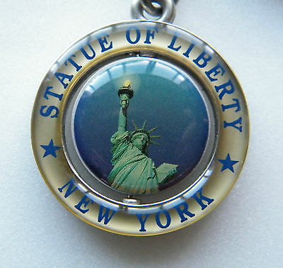 STATUE of  LIBERTY / NEW YORK  -  KEY CHAIN.