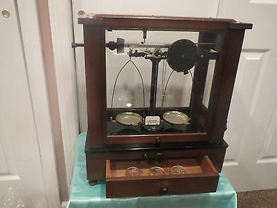 Christian Becker Vintage Chainomatic Jeweler Balance Analytical Apothecary Scale