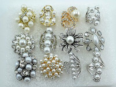 12 PC WHOLESALE Lot CHIC COCKTAIL COSTUME Fashion Jewelry RINGS#p1