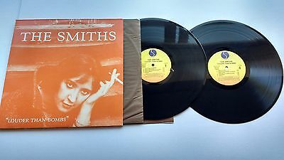 The Smiths Louder Than Bombs 2 X Lp  Rare U.s Sire Tm. Press Indie Rock
