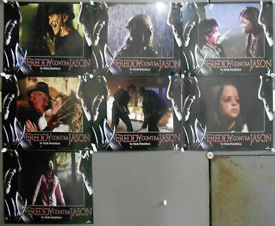 XV22 FREDDY VS JASON ROBERT ENGLUND HORROR Lobby Set Spain