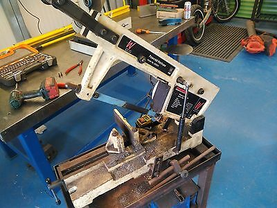 Bench Top Metal Cutting Powered Hacksaw Donky Saw 240V