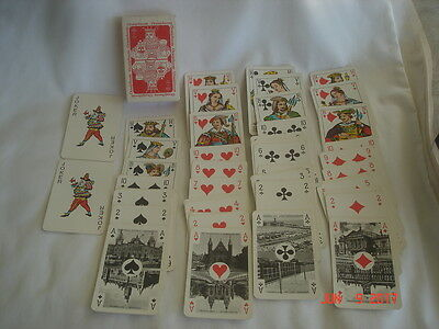 NEAT! Vtg. BOXED DECK DUTCH SUITED ORANJEBOOM BREWERY Advertising PLAYING CARDS