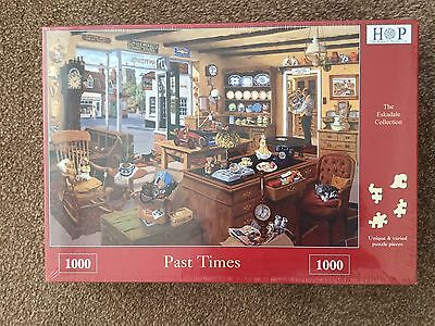 """House Of Puzzles 1000 Piece Jigsaw Puzzle """"past Times""""  Brand New"""