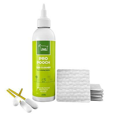 Pro Pooch Dog Ear Cleaner 250 ML Stop Itching, Head Shaking Smell in 3 Days...
