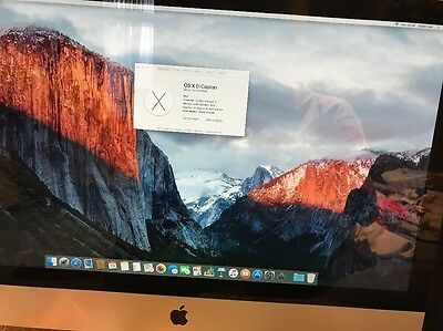 "Apple iMac 27"" / 3.2GHz Core i3 / 4GB RAM Installed / 1TB HDD - Mid 2010"